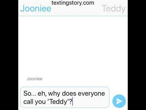 Teddy Bear || Namjoon (BTS) Text Imagine.