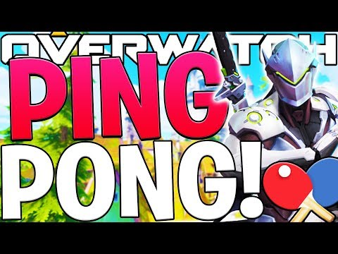 OVERWATCH PING PONG WITH FRIENDS!