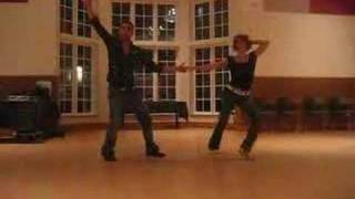 Max & Annie's Lindy Hop Performance At Saturday Night Swing