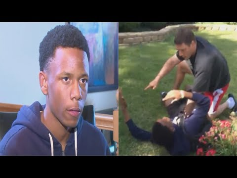 Off Duty Lansing Cop Chokes Black Teen For Trespassing On His Lawn