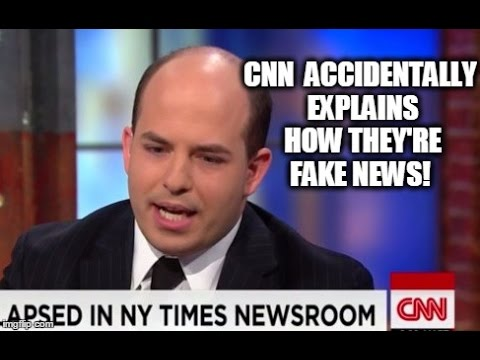 Thumbnail: Watch CNN Accidentally Explain How They're Fake News!