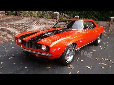 1969 Camaro Z28 S Matching For Sale Old Town Automobile