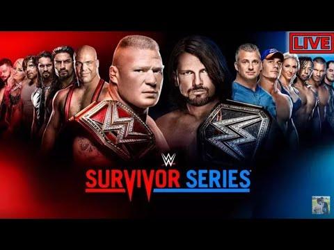WWE SURVIVOR SERIES 2017 highlights full HD thumbnail