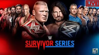 WWE SURVIVOR SERIES 2017 highlights full HD