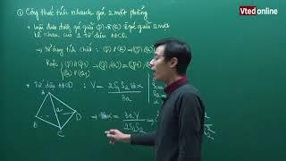 Video Vted.vn - Trích đoạn bài giảng: Công thức tính nhanh góc giữa hai mặt phẳng - Thầy Đặng Thành Nam download MP3, 3GP, MP4, WEBM, AVI, FLV Juli 2018