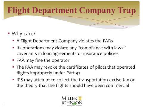 Common Mistakes Companies Make When Operating Business Aircraft