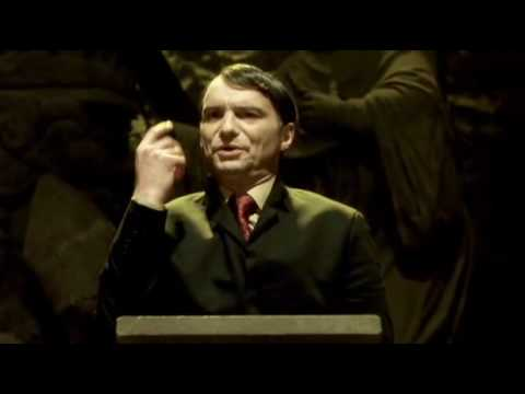 """Ivan Trojan as Adolf Hitler in """"One hand cannot clap"""""""