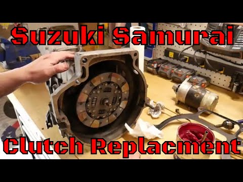 Replacing the Clutch on a Suzuki Samurai