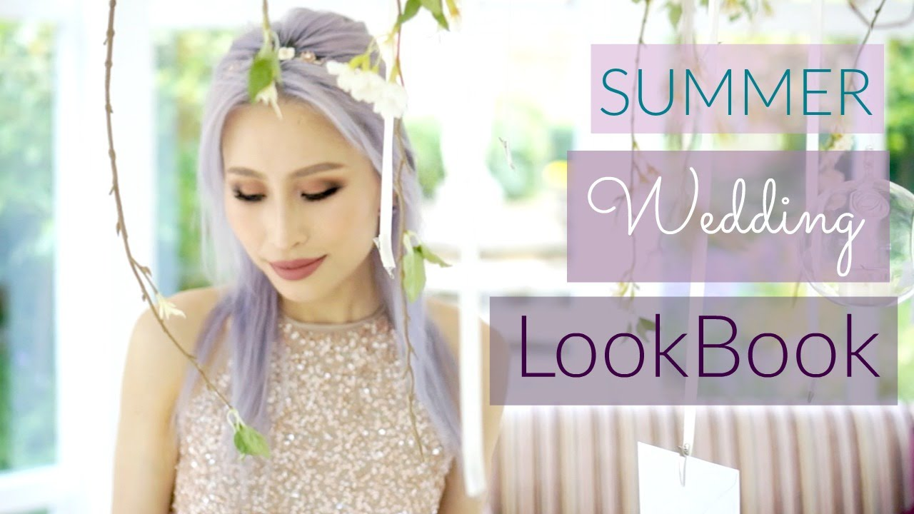 Summer Wedding LookBook | Wedding Guest OOTD | FoodishBeauty - YouTube