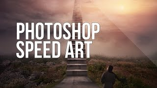 Photoshop Speed Art - Stairway to Heaven