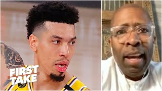 Kenny Smith shouts out Danny Green for hitting 3s & exposing the Heat's zone in Game 1 | First Take