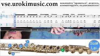 Как играть на флейте Imagine Dragons - Whatever It Takes Табы um-i821