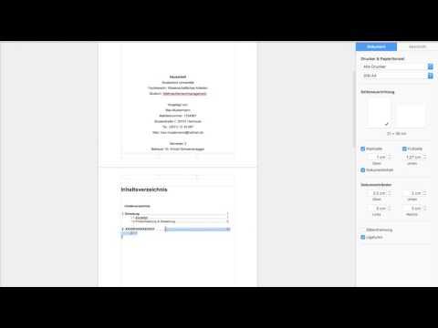 Wissenschaftliche Arbeit mit Pages