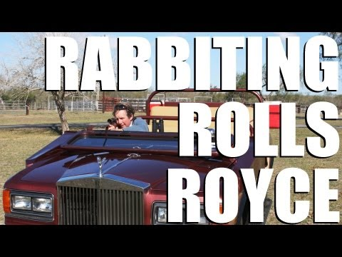 Rabbiting Rolls Royce - Ultimate Texan Hunting Vehicle