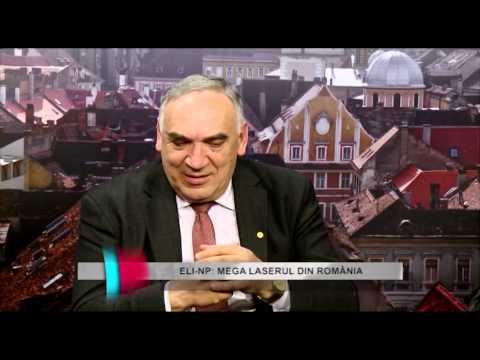 Tehnocultura TVS  ELI NP cel mai puternic laser din lume la Bucuresti