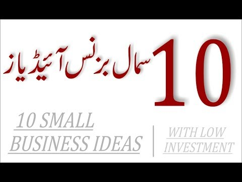 10 SMALL BUSINESS IDEAS WITH LOW INVESTMENT thumbnail