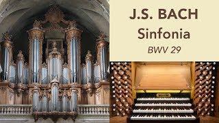 Orgue De La Cathédrale De Nancy - Johann Vexo Joue Bach (sinfonia De La Cantate Bwv 29)