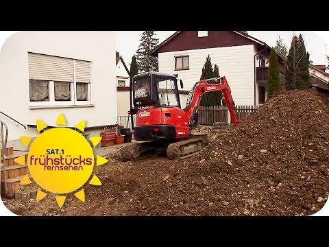 BOMBE im Garten: EIGENTÜMER soll zahlen (200.000 €)! | SAT.1 Frühstücksfernsehen | TV