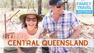 Camping Central Queensland | Winton to Emerald | Caravanning Family Travel Australia EP 59