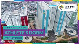 Venue Infrastructure for #AsianGames2018 - Athlete's Dorm