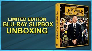 The Wolf of Wall Street Limited Edition Lenticular Blu-ray Slipbox Unboxing