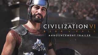 Video Civilization VI: Rise and Fall Expansion Announcement Trailer download MP3, 3GP, MP4, WEBM, AVI, FLV Maret 2018