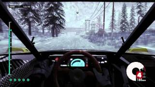 Dirt 3 PC HD gameplay maxed out GTX 560 - Winter Norway Trailblazer 2 Snowing