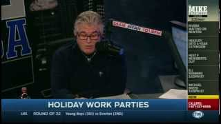Mike's WFAN holiday party rant