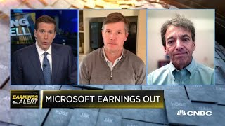 Microsoft beats on the top and bottom line with better-than-expected operating income