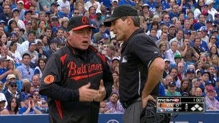 Baixar Showalter ejected for arguing strike three