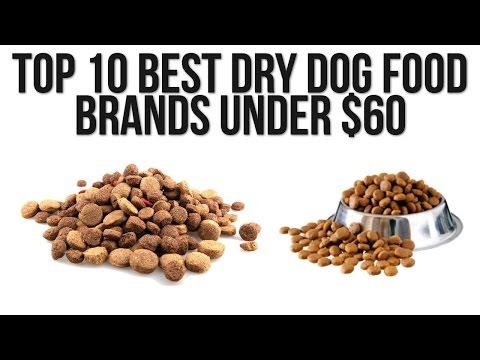Top 10 Best Dry Dog Food Brands under $60