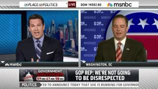 Reince Priebus Suggests MSNBC Host Apply for Obama Admin Job
