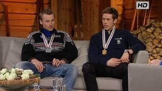 VM Holmenkollen 2011 - Exclusive: Petter Northug & Marcus Hellner