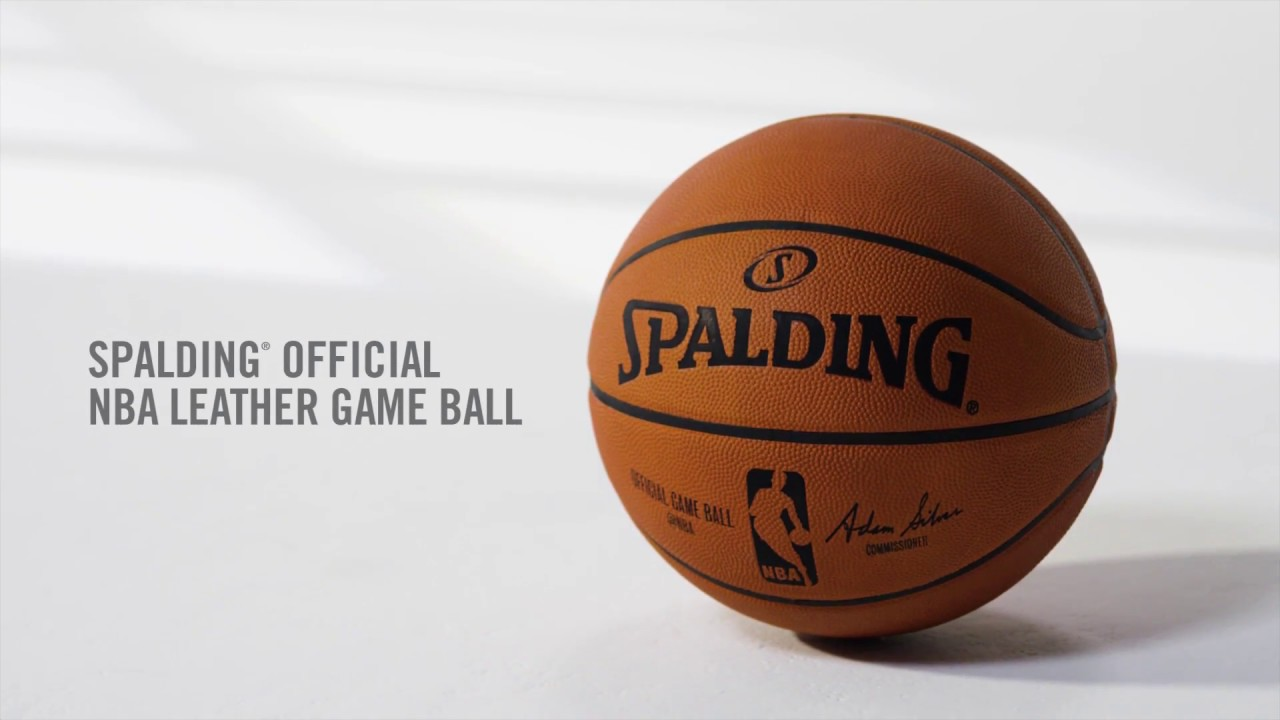 591c7b43e0a How to Break In the Spalding Official NBA Leather Game Basketball ...