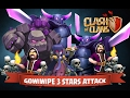 Coc Attack 1 Golem Th 10 GoWiWiPE 2017