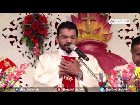 """Annual Feast of Sacred Heart Church"" - English Mass @ South Lalaguda, Sec Bad, TS, INDIA,25-06-17"