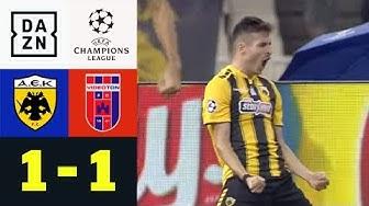 Umstrittener Elfer bringt Athen in die Champions League: AEK Athen - Videoton 1:1 | CL-Quali | DAZN