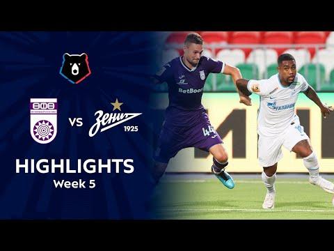 Ufa Zenit Petersburg Goals And Highlights