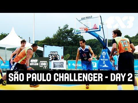 FIBA 3x3 São Paulo Challenger 2017 - LIVE - Day 2