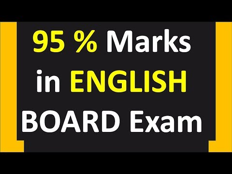 Tips to score 95% in English paper of CBSE Board Exams