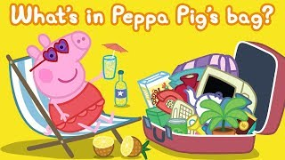 Peppa Pig | What's in My Bag - Counting for Kids, Learn Shapes for Kids | Learn With Peppa Pig thumbnail