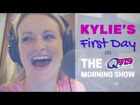 Kylie's First Day on The Q Morning Show