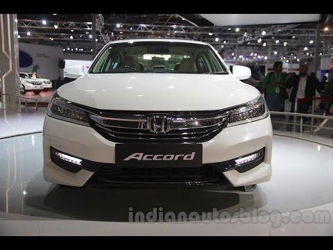 Honda Accord Hybrid at 2016 Auto Expo