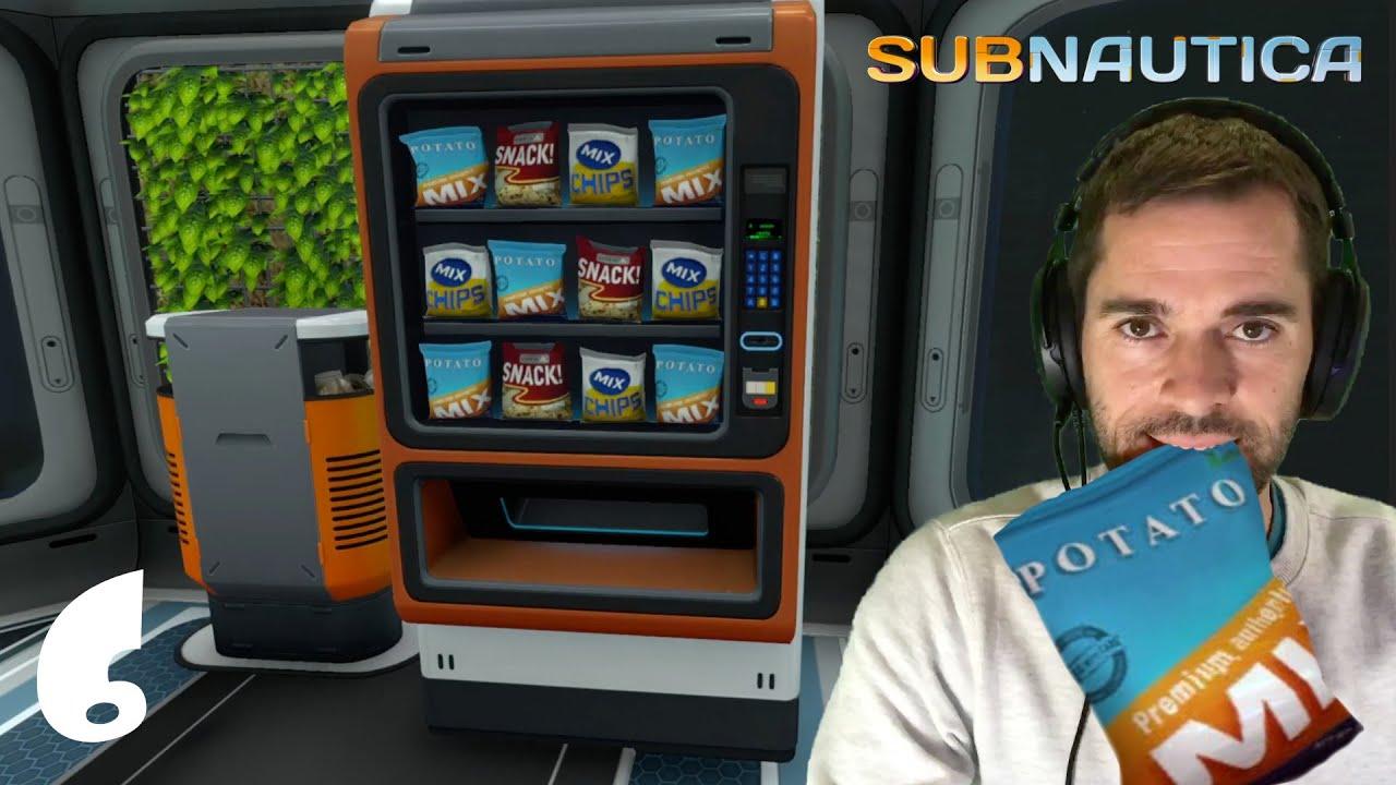 Comida Infinita 😋🍟 y Rapida en mi Casa de lujo (Base Submarina) Potato MIX | Subnautica #6