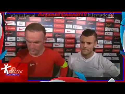 Wayne Rooney and Jack Wilshere Post Match Interview ● Slovenia vs England 2 3 ● June 14, 2