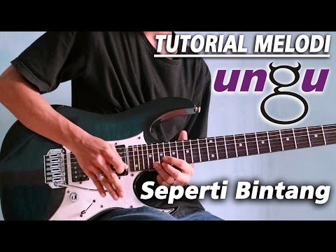 Tutorial Melodi UNGU - SEPERTI BINTANG detail (Slow Motion)