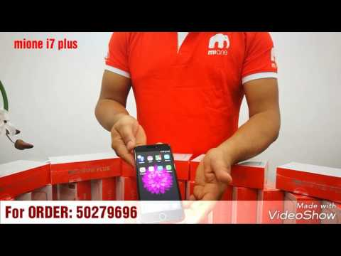 Mione i7 plus Red - YouTube