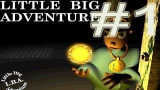 Little Big Adventure PS1 Прохождение #1