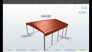 How To Build Your Carport Online At Carport1