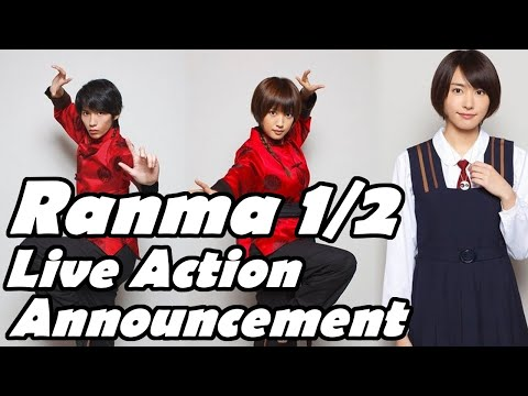 Ranma 1/2 Live Action Announcement